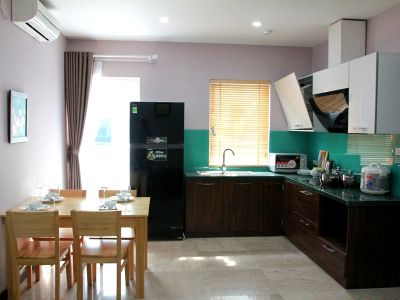 a serviced apartment 3 bedrooms on Au Co street - ID3052
