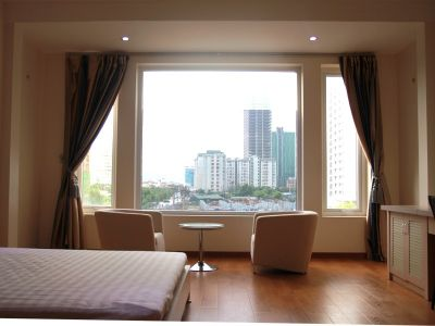 a serviced studio in Yen Hoa area, Cau Giay district - ID1023