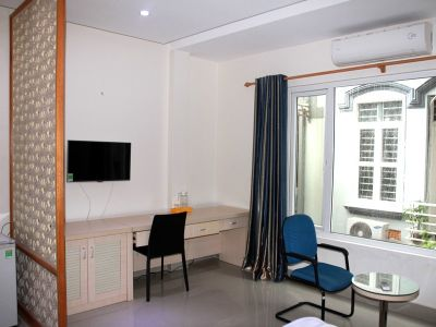 a serviced studio on Mac Thai To street, Cau Giay district - ID1024