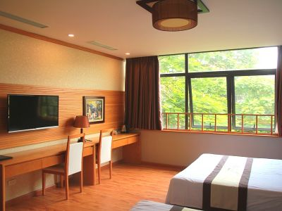 a big room has 2 beds on Tran Tu Binh street, Cau Giay district - ID1028