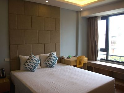 a serviced room for rent on Quan Hoa street, Cau Giay district - ID1030